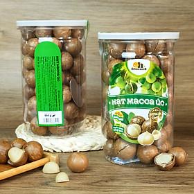 Hạt Macca Úc nứt vỏ Smile Nuts (215g - 500g)   100% nhập khẩu từ Úc, giòn béo, thơm ngon