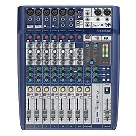 Bộ Trộn Âm Thanh Soundcraft Signature 10 EU Mixing