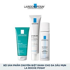 Bộ sản phẩm chuyên biệt dành cho da dầu mụn La Roche Posay