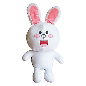 Hình đại diện sản phẩm Gấu bông UNISU thỏ bông trắng vải nhung mịn