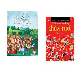 Combo 2 cuốn sách: Alice lạc vào xứ sở diệu kỳ và đi qua tấm gương   + Chúa ruồi