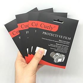 Miếng dán màn hình cường lực cho máy ảnh Canon M6/M50/M100/EOSRP
