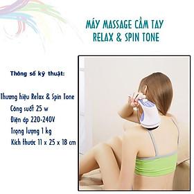 Máy massage giảm mỡ bụng Relax & Spin Tone - Hàng chuẩn, giá rẻ, thư giãn và giảm mỡ hiệu quả