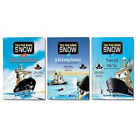 Combo 3 cuốn: Tàu phá băng SNOW và nhiệm vụ ở vịnh Phần Lan + Tàu phá băng SNOW và bí ẩn ở vùng Hailuoto + Tàu phá băng SNOW và thành phố mất tích