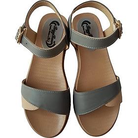 Giày Sandal Nữ BIGGBEN Da Bò Thật SDN56