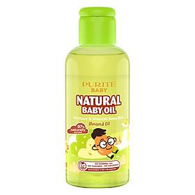 Dầu Mát-xa Purité Baby Hạnh Nhân Natural Baby Oil Almond Oil (100ml)
