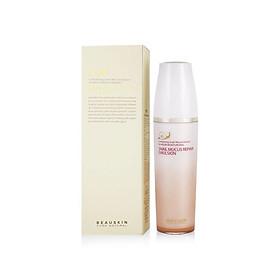 Sữa dưỡng làm trắng và dưỡng ẩm tinh chất ốc sên Beauskin Snail Mucus Repair Emulsion 130ml - Hàn Quốc Chính Hãng