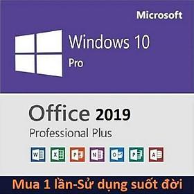 Combo Windows 10 và Office 2019 bản quyền sử dụng suốt đời