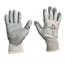 Găng tay chống cắt cấp độ 5 3M GTCC - size L, màu xám trắng