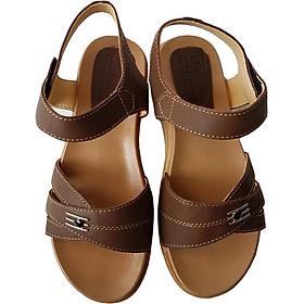 Giày Sandal Nữ BIGGBEN Da Bò Thật SDN33