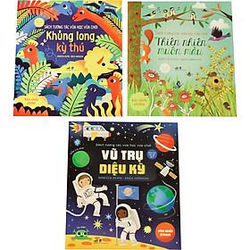 Combo Bộ 3 Cuốn: Sách Tương Tác Vừa Học Vừa Chơi