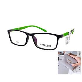 Gọng kính, mắt kính chính hãng VELOCITY VL36460 993 - Tặng 1 ví cầm tay (màu ngẫu nhiên)