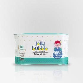 Combo 12 gói khăn giấy ướt Jelly Bubble - 20 tấm