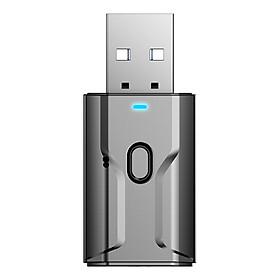 Thiết bị thu phát âm thanh bằng sóng Bluetooth 5.0 không dây AUX cổng USB jack 3.5mm tiện dụng
