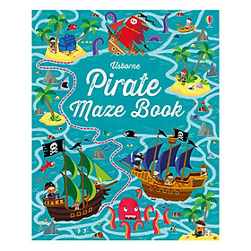 Usborne Pirate Maze Book