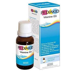 Thực phẩm chức năng Pediakid D3 Bổ Sung Vitamin D3 20ml