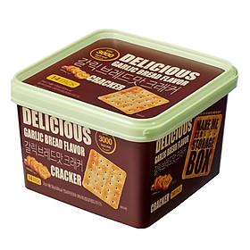 Bánh Cracker Vị Tỏi Only Price 336G