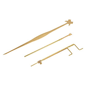 Hình đại diện sản phẩm Bộ 3 Công Cụ Đo Và Sửa Chữa Đàn Cello Vàng