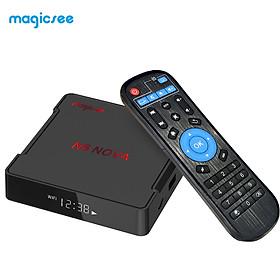 Hộp TV Thông Minh Magicsee N5 NOVA Android 9.0 RK3318 Quad Core 64 Bit 4K WiFi 2.4G&5G & 100M LAN HD H.265 VP9