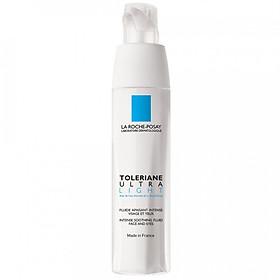 Kem dưỡng làm dịu tức thì & bảo vệ cho da khô rất nhạy cảm & kích ứng La Roche-Posay Toleriane Ultra Light (40ml)