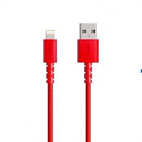 Dây Cáp Sạc Lightning Chuẩn MFi Cho iPhone Anker Lightning PowerLine Select+ A8012 0.9m / A8013 1.8m - Hàng Chính Hãng