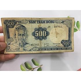 500 đồng Trần Hưng Đạo mặt sau là trận Bạch Đằng lịch sử, tặng phơi nylon bảo vệ tiền