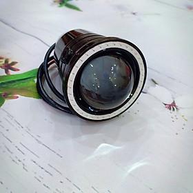 Đèn Led trợ sáng U7 ba chế độ ánh sáng viền màu xanh, Độ sáng 3000 Lumens,Chống bụi, chống nước đạt chuẩn Ip67 - A273
