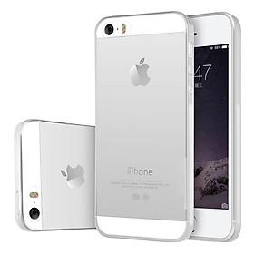 Ốp Lưng Dẻo Dành Cho iPhone 5/iPhone 5S/iPhone 5SE - Trong Suốt- Hàng chính hãng