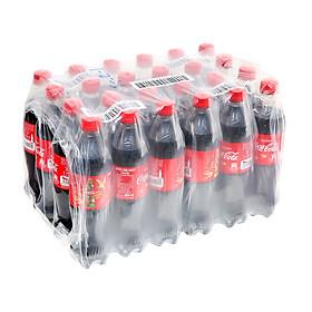Lốc 24 Chai Nước Giải Khát Có Gas Coca-Cola (600ml / Chai)