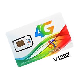 SIM 4G V120Z VIETTEL 90K/THÁNG - 4 GB/NGÀY