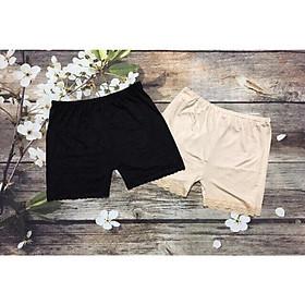 Quần đùi bầu mang váy - Tặng 01 quần lót bầu