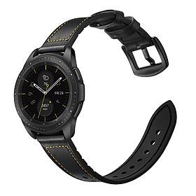 Dây da Hybrid cho Galaxy Watch Active, Galaxy Watch 42 Size 20mm