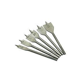 Bộ 6 mũi khoét khoan gỗ  đuôi cá 12-32mm
