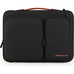 Cross medal Apple notebook case macbook Air/Pro13.3 inch laptop bag millet / Microsoft surface pro liner bag CR-2115 black gray