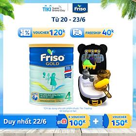 Sữa Bột Friso Gold 4 1400g Dành Cho Trẻ Từ 2 - 6 Tuổi + Tặng Bộ Đồ Chơi Nhà Bếp