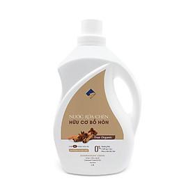 Nước rửa chén hữu cơ Bồ hòn Ecocare tinh dầu Quế 2000ml
