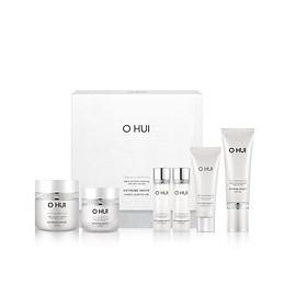 Bộ 5 bước dưỡng trắng da OHUI Extreme White Cream Special Set 210ml
