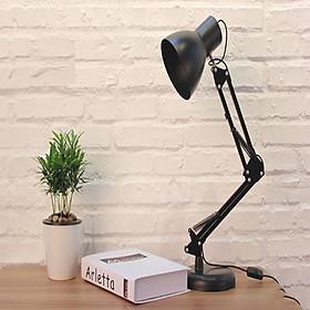 Đèn học, đèn làm việc kẹp bàn chống cận bảo vệ đôi mắt của bạn tặng kèm bóng đèn