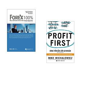 Combo 2 cuốn sách: Forex 100% - Học Cách Kiếm Tiền Trên Thị Trường  + Dòng Tiền Gắn Liền Lợi Nhuận