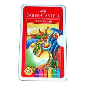 Faber-Castell-120063On-Bút Sáp Dầu - 12 Màu + Chuốt
