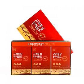 Hộp 30 túi Tinh chất 100% Hồng Sâm Daedong Korea - Korea Red Ginseng Gold Premium (30 x 80ml)