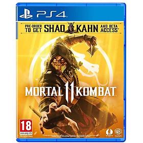 Game ps4 - Mortal Kombat 11