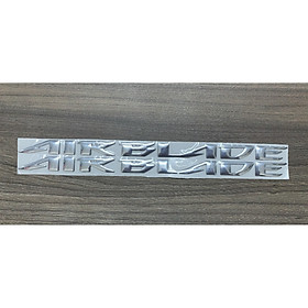 Tem chữ nổi dành cho xe Air Blade