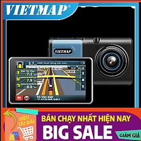 Camera hành trình Vietmap A50 - Cảnh Báo Giao Thông Bằng Giọng Nói + Wifi + thẻ nhớ vietmap 32GB - Hàng chính hãng