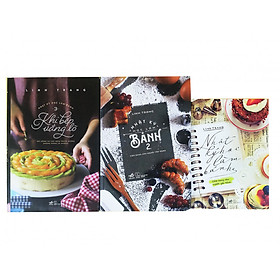 Sách Bộ 3 cuốn Nhật ký học làm bánh