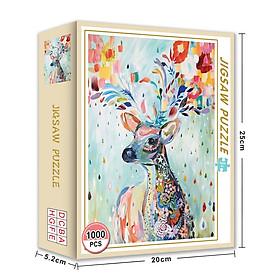 Bộ Tranh Ghép Xếp Hình 1000 Pcs Jigsaw Puzzle (Tranh ghép 70*50cm) Bản Thú Vị Cao Cấp