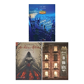 Combo 3 Cuốn Sách Trinh Thám Kịch Tính Hấp Dẫn Người Đọc : Ánh Sáng Thành Phố + Khách Sạn Ba Đóa Hồng + Cô Dâu Đen