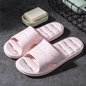 Dép đi trong nhà, nhà tắm nam nữ cao cấp dép mát xa chân cực kỳ êm ái thoải mái SP-010101