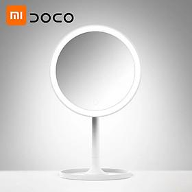 Xiaomi Youpin DOCO Daylight Mirror LED Makeup Mirror Light Vanity Make up Mirrors Lamp USB Charging Lights Adjustable