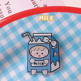 Pin trang trí mini Stick trang trí balo áo nguồn hàng giá rẻ